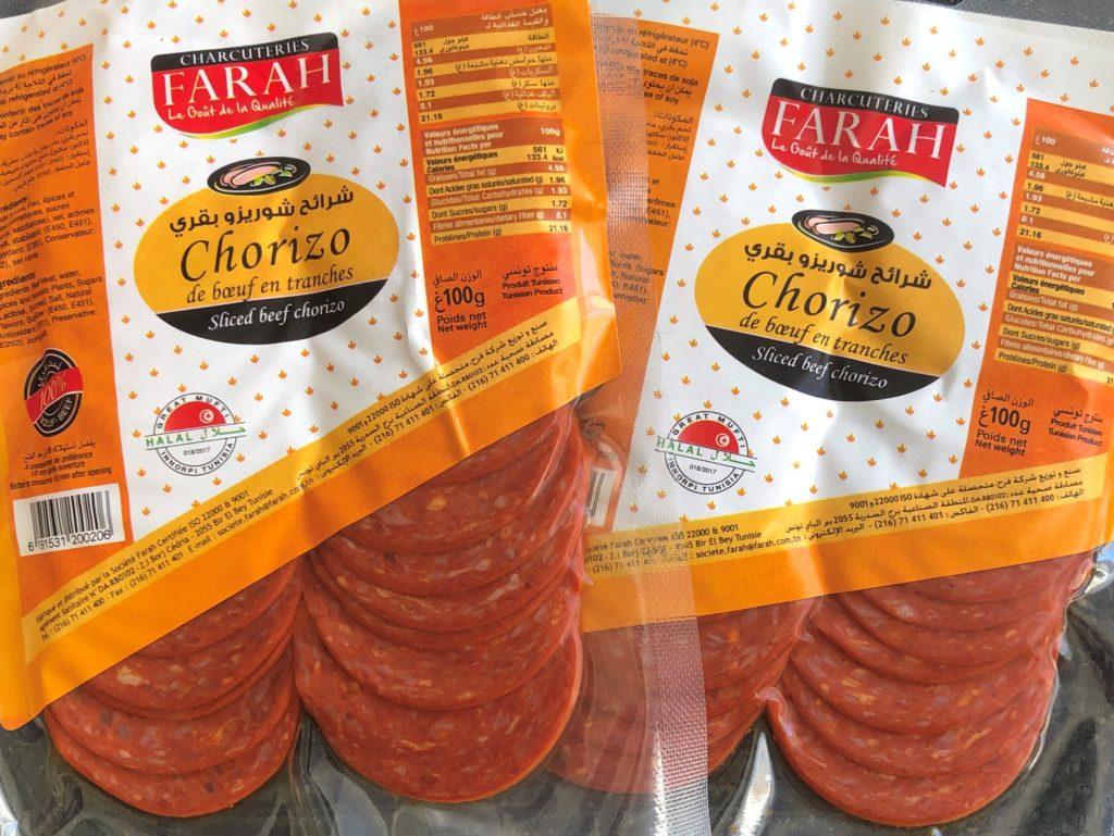 Chorizo pur boeuf Farah